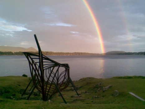 Rainbow at Port Arthur
